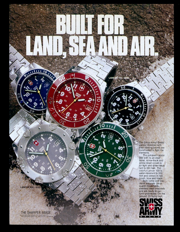 Diving Watches Ads