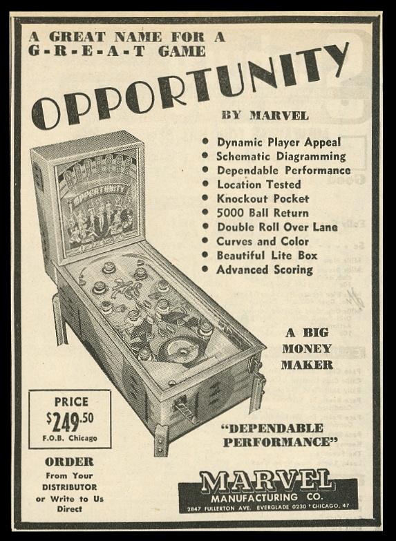 opportunity machine